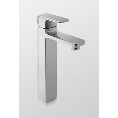 Upton Single Handle Single Hole Vessel Bathroom Faucet Finish: Brushed Nickel