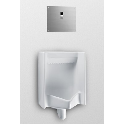 Back Spud Commercial Washout Urinal Finish: Sedona Beige