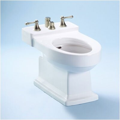 Lloyd 15 Floor Mount Bidet Bidet Finish: Colonial White