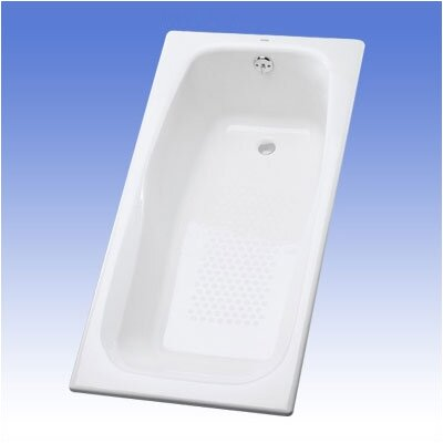 Enameled 66 x 32 Soaking Bathtub Finish: Cotton