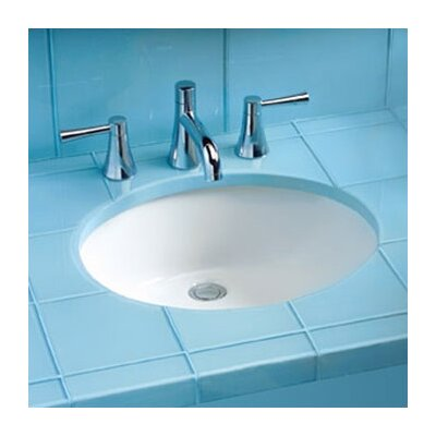 Rendezvous Circular Undermount Bathroom Sink with with Overflow Sink Finish: Cotton