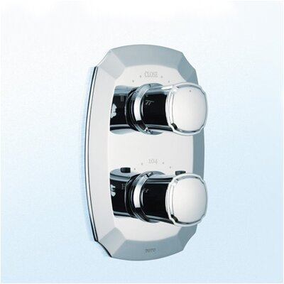 Guinevere Valve Trim with Dual Volume Control Finish: Polished Chrome
