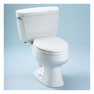 Carusoe 1.6 GPF Elongated Two-Piece Toilet