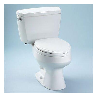 Carusoe 1.6 GPF Elongated Two-Piece Toilet