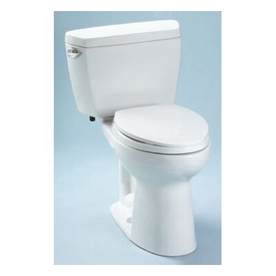 Drake 1.6 GPF Elongated Two-Piece Toilet Toilet Finish: Cotton