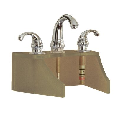 Drains and Accessories Frosted Glass Faucet Stand Finish: Copper