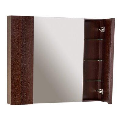 Bennett 42 x 35 Surface Mount Medicine Cabinet Finish: Wenge