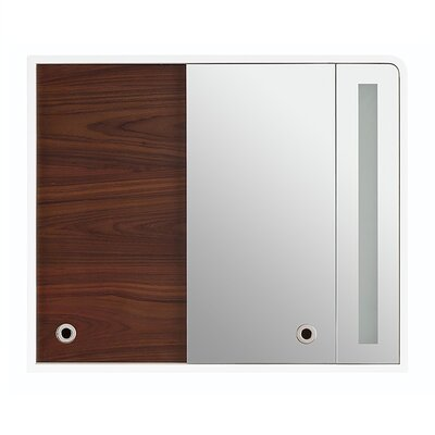 Rylan Falls 38 x 32 Surface Mount Medicine Cabinet Orientation: Right