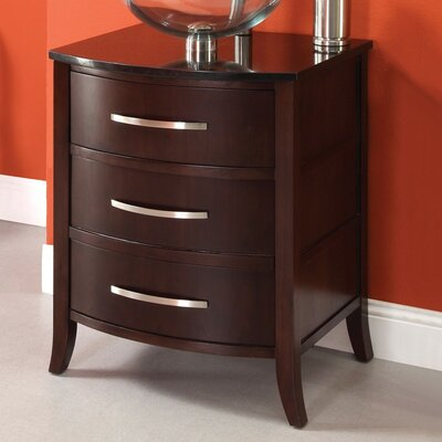 Lola 25.25 Bathroom Vanity Base Finish: Dark Walnut