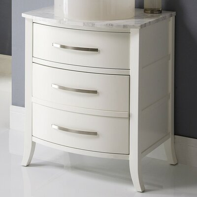 Lola 25.25 Bathroom Vanity Base Finish: White