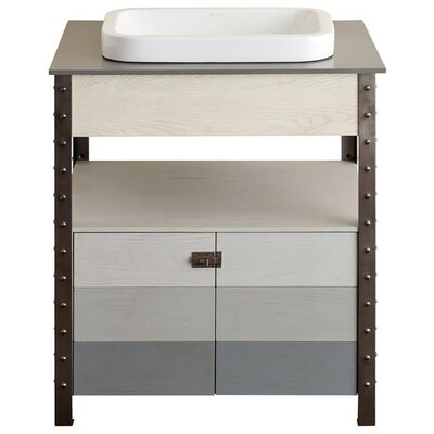 Brockston 30 Vanity Set with Quartz Top