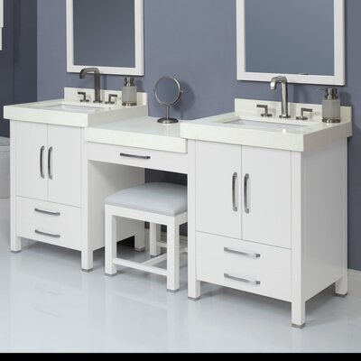 Cameron 26 Double Bathroom Vanity Set