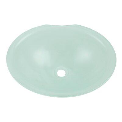 Translucence Lavatory Oval Undermount Bathroom Sink