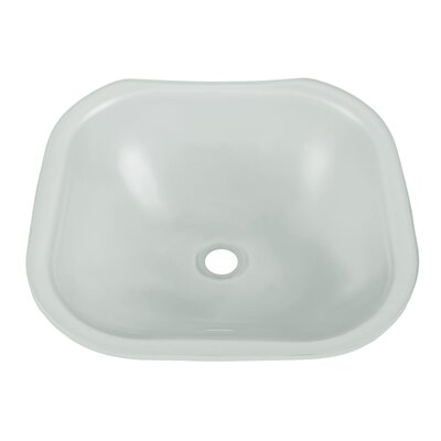 Translucence Lavatory Square Undermount Bathroom Sink