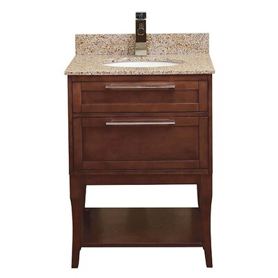 Aura 25 Single Freestanding Vanity Set