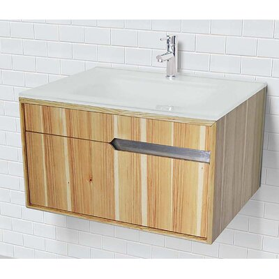 Cityscape 30 Single Bathroom Vanity Base Finish: Hickory