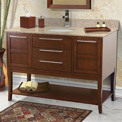 Aura 49 Single Freestanding Vanity Set