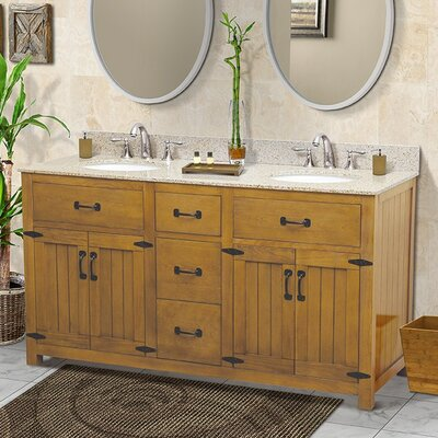 Countryside 60 Double Bathroom Vanity Set