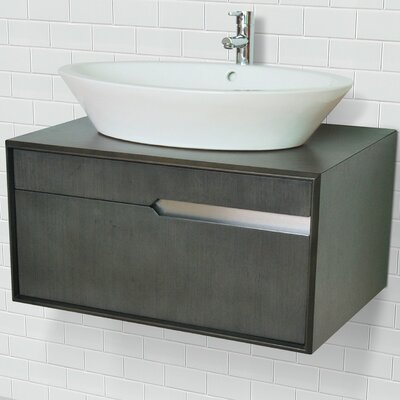 Cityscape 29 Single Bathroom Vanity Base Finish: Charcoal