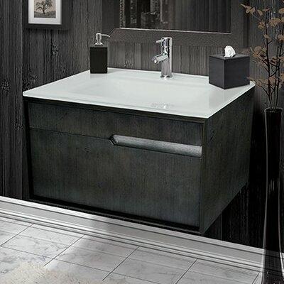 Cityscape 30 Single Bathroom Vanity Base Finish: Charcoal