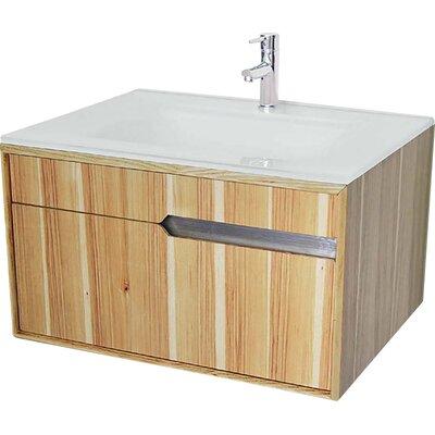 Cityscape 30 Single Bathroom Vanity Base Finish: Hickory