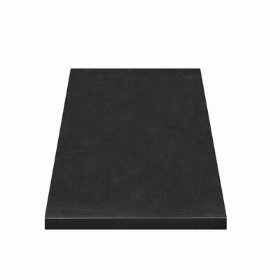Jordan Granite 21.5 Single Bathroom Vanity Top Top Finish: Black