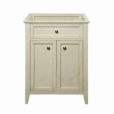 Jordan 24.5 Bathroom Vanity Base Base Finish: Antique White