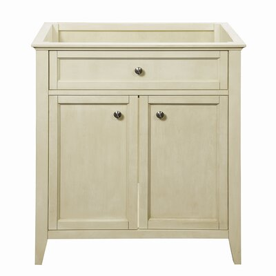 Jordan Modular 30.5 Bathroom Vanity Base Base Finish: Antique White