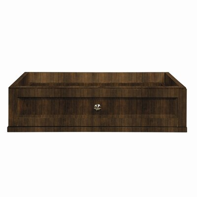 Single Drawer Console for Jordan Vanities Finish: Mahogany