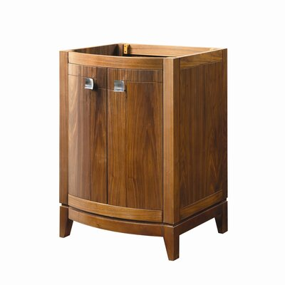 Gavin 24 Bathroom Vanity Base Base Finish: Medium Walnut