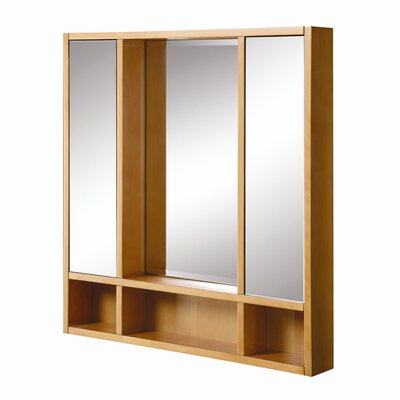 Tyson 30 x 32 Surface Mount Medicine Cabinet Finish: Maple