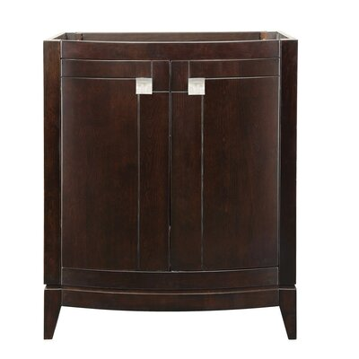 Gavin 30 Bathroom Vanity Base Finish: Espresso