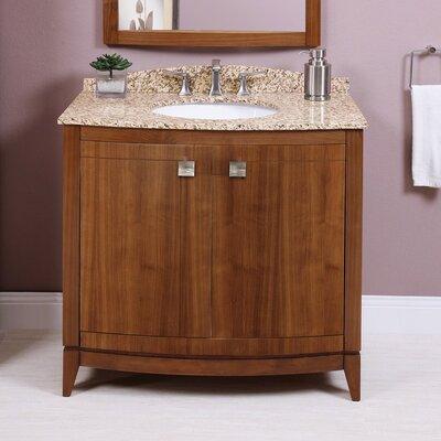 Gavin 36 Bathroom Vanity Base Base Finish: Medium Walnut