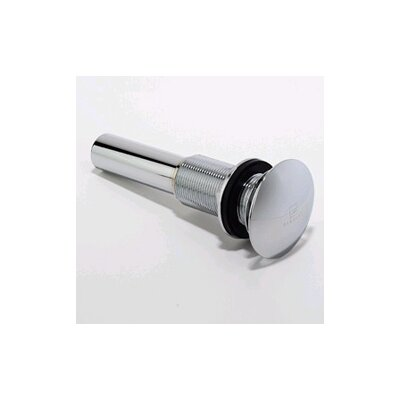 1.25  Pop-Up Bathroom Sink Drain Finish: Polished Chrome