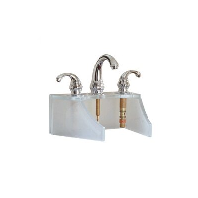 Drains and Accessories Frosted Glass Faucet Stand Finish: Crystal