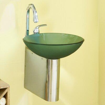 11 Wall Mounted Sink Bracket Finish: Brushed
