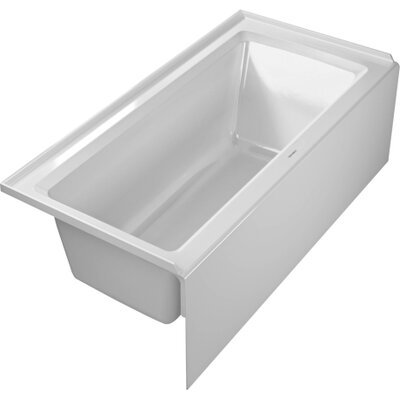 Architec 60 x 30 Soaking Bathtub Drain: Left