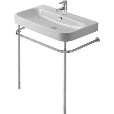 Happy D.2 Metal 2 Console Bathroom Sink