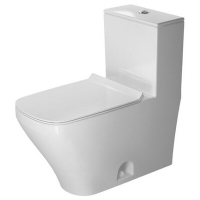 DuraStyle Dual Flush Elongated One-Piece Toilet Wondergliss