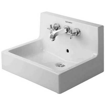 Vero 24 Wall Mount Sink with Overflow