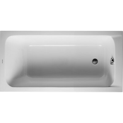 D-Code 59.05 x 29.5 Soaking Bathtub