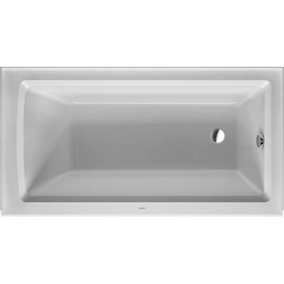 Architec 60 x 32.13 Soaking Bathtub Drain Location: Left