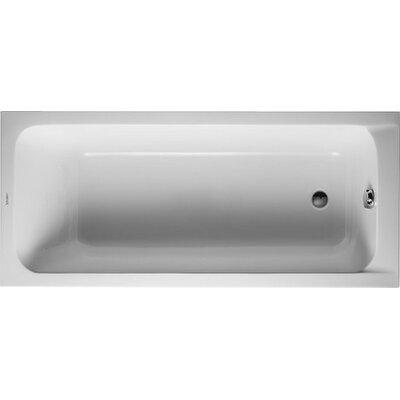 D-Code 63 x 27.5 Soaking Bathtub