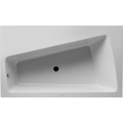 Paiova 66.87 x 39.37 Soaking Bathtub