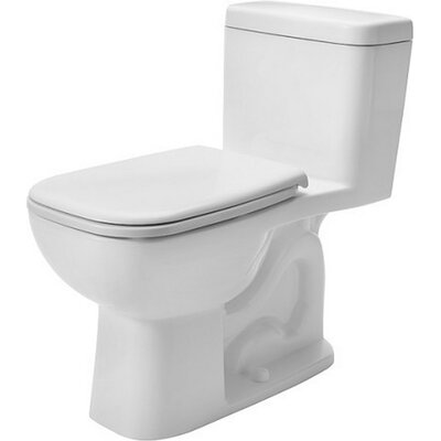 D-Code 1.28 GPF Elongated One-Piece Toilet