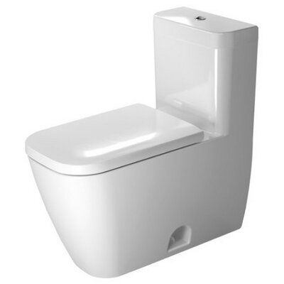 Happy D.2 Dual Flush Elongated One-Piece Toilet