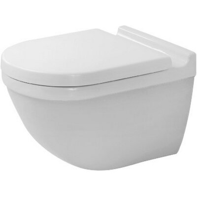 Starck Special Dual Flush Elongated Toilet Bowl