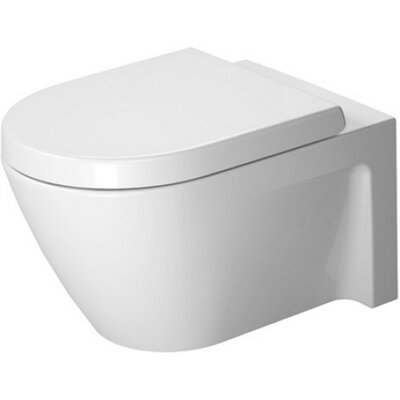 Starck Dual Flush Elongated Toilet Bowl