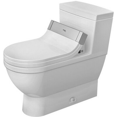 Starck 1.28 GPF Elongated One-Piece Toilet