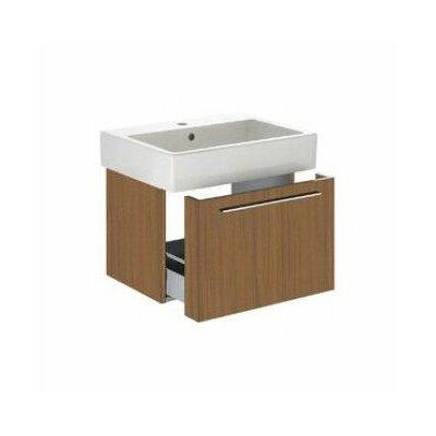 Vero 22 Wall Mounted Vanity Base Base Finish: American Walnut